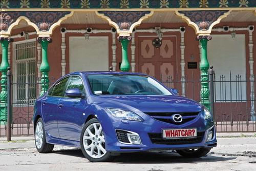 Mazda 6. Фото Яна Сегала с сайта whatcar.ru