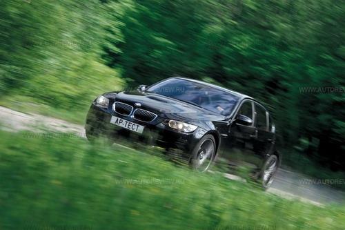 Новый BMW М3 стал ощутимо комфортнее. Фото Степана Шумахера с сайта autoreview.ru.