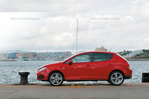 SEAT Ibiza. Фото Валерия Арутина и компании SEAT с сайта autoreview.ru.