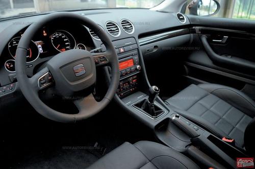 Передняя панель — от кабриолета Audi A4 предыдущего поколения, производство которого еще не прекращено. Фото Влада Клепача и SEAT с сайта autoreview.ru.