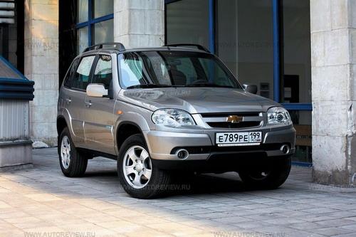 Chevrolet Niva. Фото Игоря Владимирского с сайта autoreview.ru