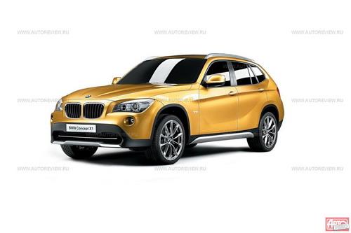 Серийный BMW X1 будет отличаться от концепта BMW Concept X1 лишь мелочами... Фото BMW с сайта autoreview.ru