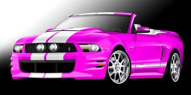 Противораковый Mustang