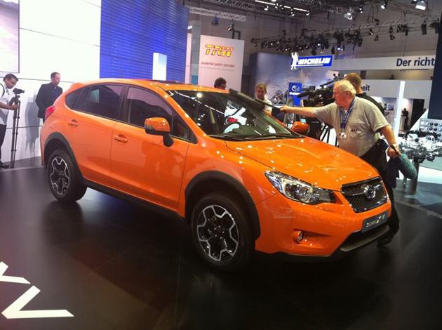 Subaru XV — новая внешность с интерьером, очень похожим на старый. Фото Drive.ru