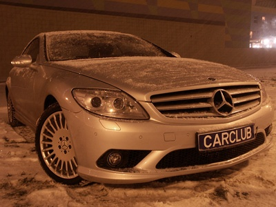 Mercedes-Benz CL класс. Фото с сайта CarClub.ru