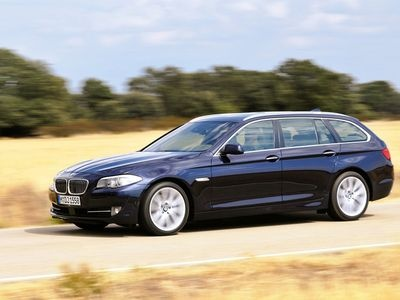 BMW 5 Series Touring. Фото BMW
