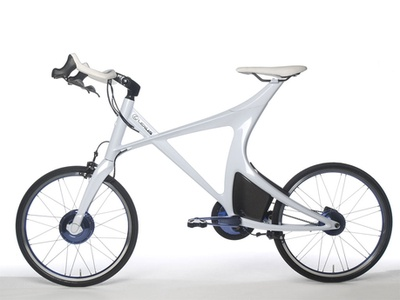 Lexus Hybrid Bicycle. Фото Lexus