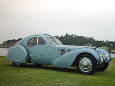 Bugatti Type 57SC Atlantic. Фото с сайта supercars.net