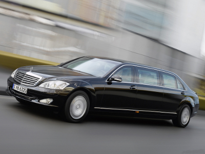Mercedes-Benz S600 Pullman Guard. Фото Mercedes-Benz