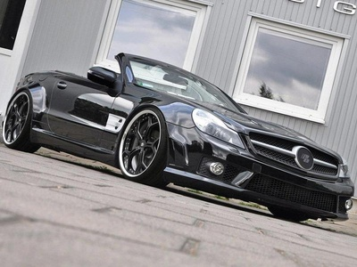 Mercedes-Benz SL R230 от Prior Design. Фото Prior Design