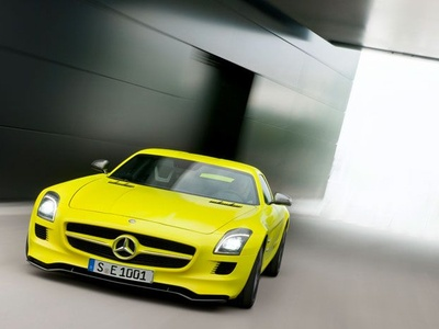 Mercedes-Benz SLS AMG E-Cell. Фото Mercedes-Benz