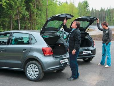 Volkswagen Polo и Citroen С3. Фото Игоря Кузнецова, 5 колесо