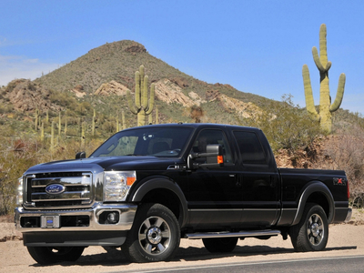 Ford F-250 Super Duty FX4 Crew Cab. Фото Ford