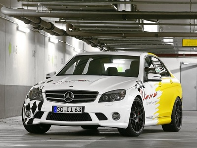Mercedes-Benz C63 AMG от Wimmer RS. Фото Wimmer RS