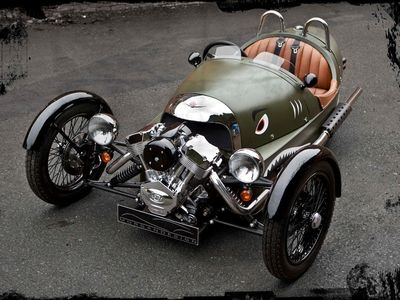 Morgan Threewheeler. Фото Threewheeler
