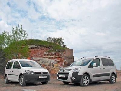 Citroen Berlingo vs VW Caddy. Подровняем каблучки! - Тест-драйвы ... b4e9fc5728f23