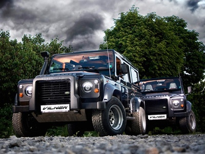 Land Rover Defender. Фото Vilner
