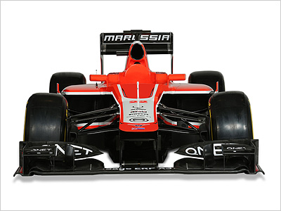 Новый болид Marussia MR02