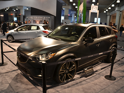 Mazda CX-5 Urban Rear на выставке в Нью-Йорке