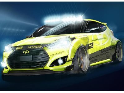 Hyundai Yellowcake Veloster Turbo