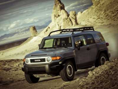 Toyota FJ Cruiser Trial Teams Ultimate Edition