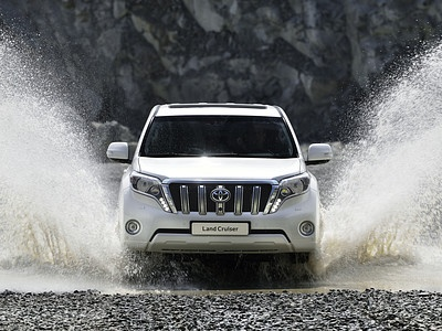 Обновленный Toyota Land Cruiser Prado