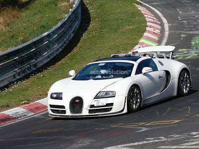 Следующий Bugatti Veyron станет гибридным
