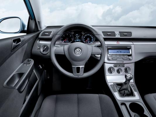 характеристики volkswagen passat b6