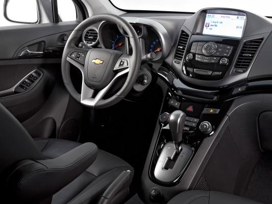 Chevrolet Orlando I поколение Минивэн – модификации и цены ...