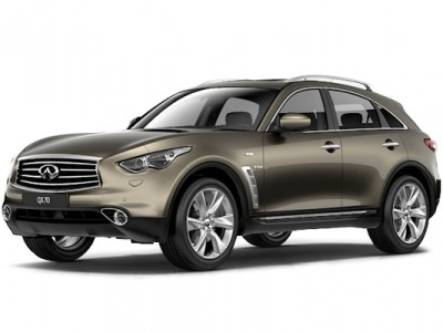 2016 Infiniti QX70 3.0d AT AWD  - 3 518 500 руб.