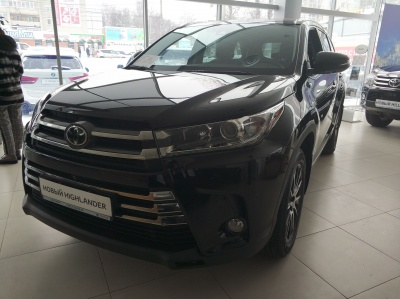 2019 Toyota Highlander 3.5 AT  Люкс Safety - 3 799 000 руб.