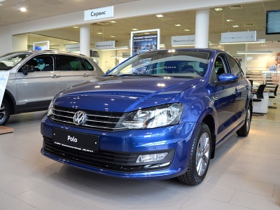 2019 Volkswagen Polo 1.6 AT  Connect - 961 900 руб.