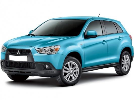 Цвета Mitsubishi ASX suv (I поколение), 2010 - 2012 ...