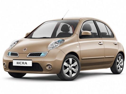 Цвета Nissan Micra Hatchback K12 2002 2010