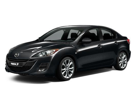 Цвета Mazda 3 sedan (II поколение), 2009 - 2011 ...
