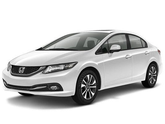 honda civic седан цвета кузова